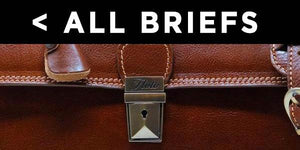 Leather Briefcase Key Locks