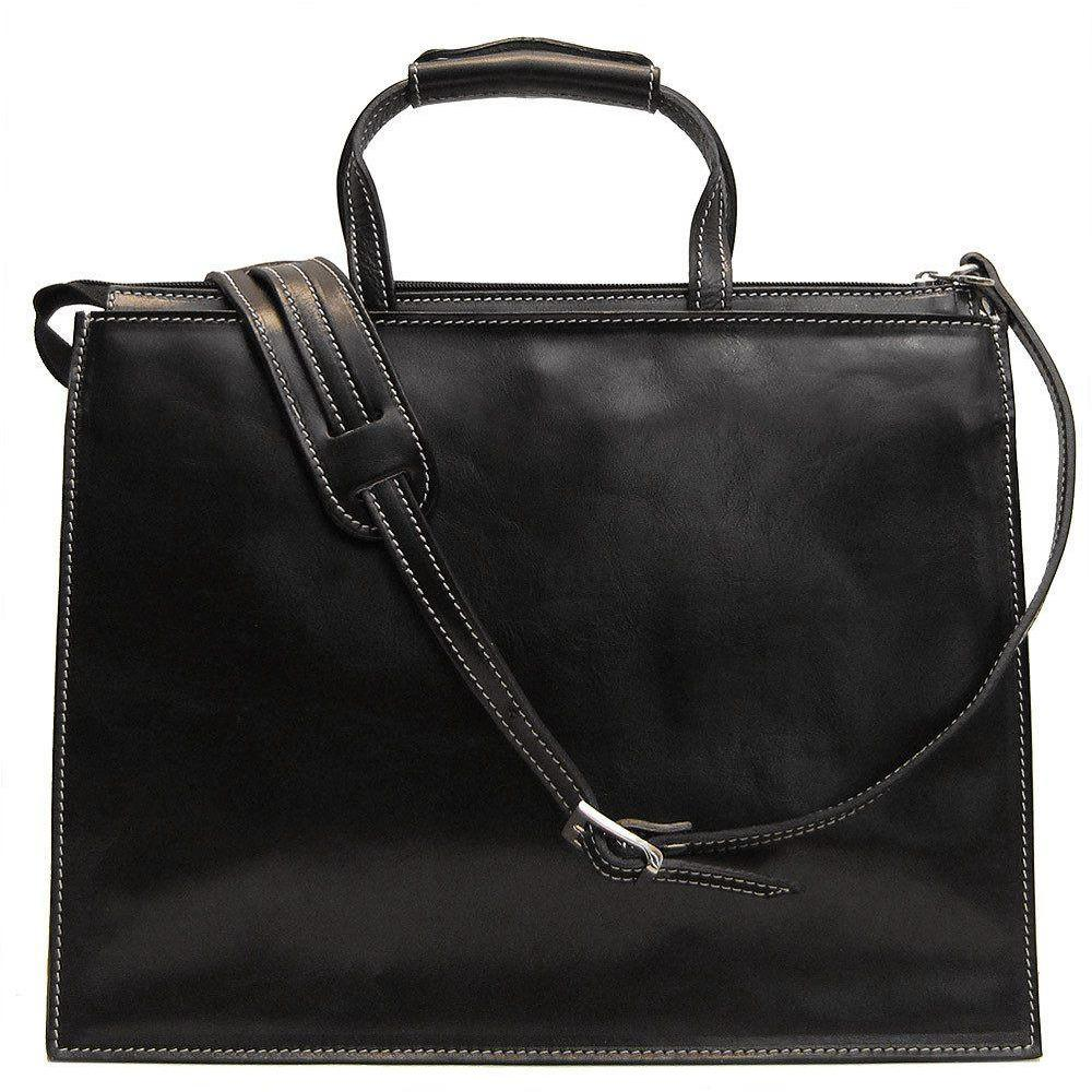 a63b3db93 ... Load image into Gallery viewer, leather attache briefcase ...