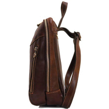 Load image into Gallery viewer, leather backpack floto lampara