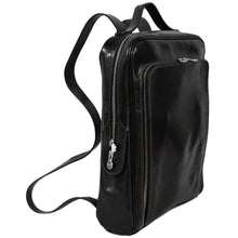 Load image into Gallery viewer, leather backpack floto milano
