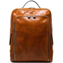 Load image into Gallery viewer, Leather Briefcase Floto Milano Monogram brown olive