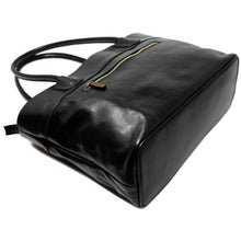 Load image into Gallery viewer, Floto Italian Leather Napoli Women's Handbag Shoulder Bag black 2