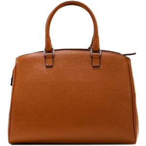 Leather Handbag Floto Rapallo Bag back