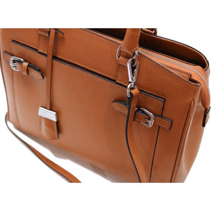 Leather Handbag Floto Rapallo Bag close