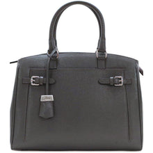 Load image into Gallery viewer, Leather Handbag Floto Rapallo Bag Grey