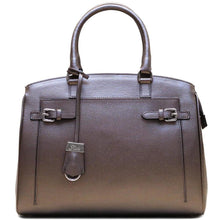 Load image into Gallery viewer, Italian Leather Handbag Floto Rapallo Bag silver