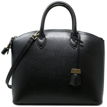 Load image into Gallery viewer, Floto Italian Leather Handbag Women's Tote Bag Romana black