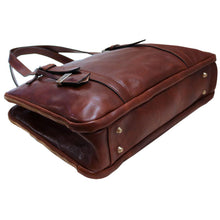 Load image into Gallery viewer, Womens Leather Business Tote Work Laptop Bag Salerno 3