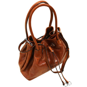 Floto Italian Leather Women's Handbag Shoulder Bag Sorrento 3