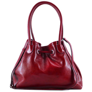 Floto Italian Leather Women's Handbag Shoulder Bag Sorrento 5