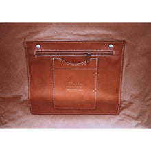 Load image into Gallery viewer, Leather Duffle Bag Venezia in Tempesti Brown 7