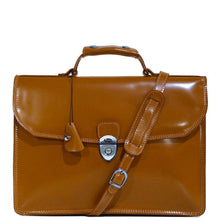 Load image into Gallery viewer, Floto Italian Leather Milano Limited Briefcase Attache