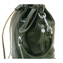 Load image into Gallery viewer, leather bucket bag satchel floto ciabatta
