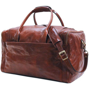 Floto Italian Leather Cargo Duffle Bag Suitcase Large 2