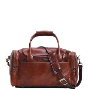 Floto Italian Leather Cargo Duffle Bag Suitcase Small