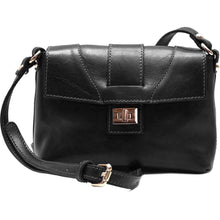Load image into Gallery viewer, Floto Sapri Leather Bag in full grain calfskin black