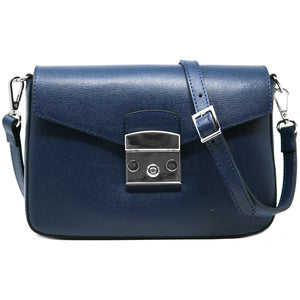 floto leather cross body stachel women's bag sapri blue