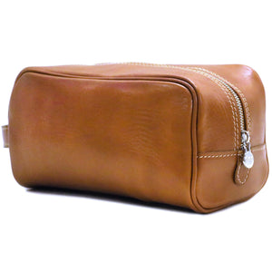 Floto Italian Leather Dopp Travel Kit Tempesti 2