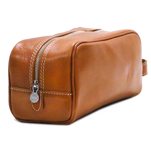 Floto Italian Leather Dopp Travel Kit Tempesti 3