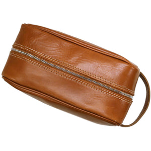 Floto Italian Leather Dopp Travel Kit Tempesti 4
