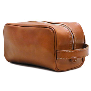 Floto Italian Leather Dopp Travel Kit Tempesti 5
