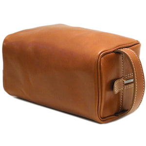 Floto Italian Leather Dopp Travel Kit Tempesti 6