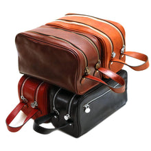 Load image into Gallery viewer, Leather Dopp Travel Kit Bag Floto