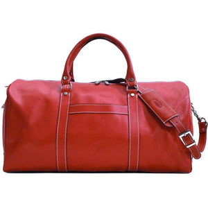 floto lugano cabin duffle bag carryon red