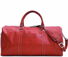 Load image into Gallery viewer, floto lugano cabin duffle bag carryon red