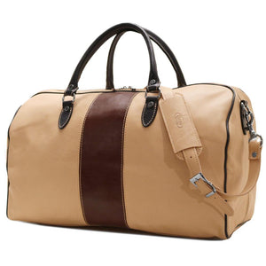 Leather Duffle Bag Floto Venezia Aspen