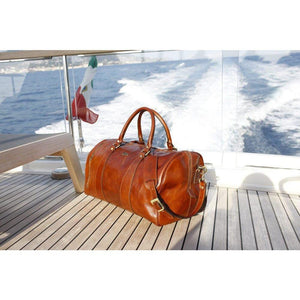 Floto Collection Leather Duffle Bag