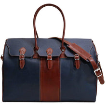 Load image into Gallery viewer, floto lugano gladstone duffle bag carryon blue