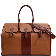 Load image into Gallery viewer, floto lugano gladstone duffle bag carryon brown