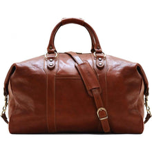 Load image into Gallery viewer, Floto Roma Italian Leather Travel Bag brown 2