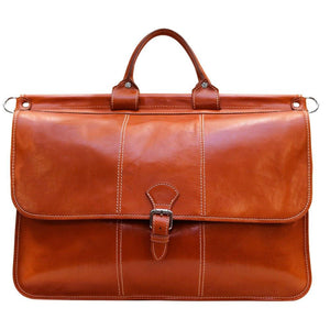Floto Italian Leather Vaggo Duffle Travel Bag Weekender 3