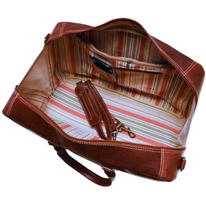 leather suitcase duffle bag