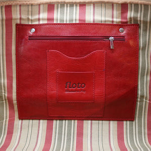 Floto Italian Leather Duffle Bag Venezia 2.0 Travel Bag