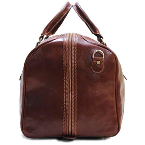 Leather Duffle Bag Floto Venezia Grande end