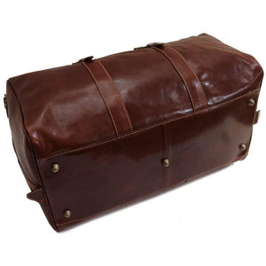 Leather Duffle Bag Floto Venezia Grande bottom