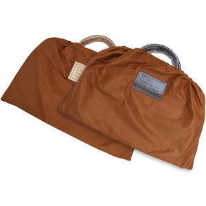 Leather Travel Duffle Bag Floto Venezia cotton dust bag