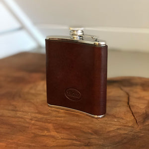 Floto Italian Leather Flask