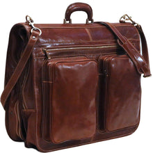 Load image into Gallery viewer, leather garment bag venezia floto