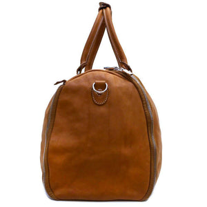 leather convertible garment duffle bag floto