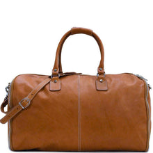 Load image into Gallery viewer, Floto Italian Parma Leather Converible Garment Duffle Bag