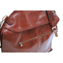 Load image into Gallery viewer, leather garment suit bag floto