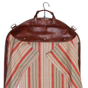 leather garment suit bag floto