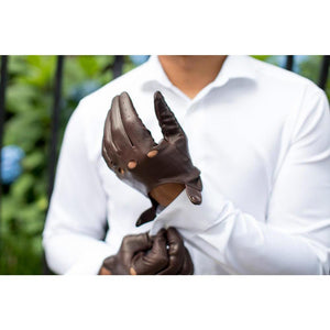 Floto Leather Driving Gloves