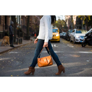 leather handbag floto hobo