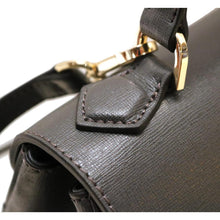 Load image into Gallery viewer, Leather Top-Handle Satchel Floto Siena