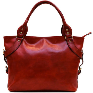 Leather Handbag Floto Taormina